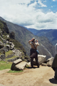 Me in the Peruvian Andes