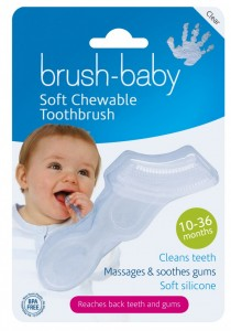 Chewable Toothbrush front image flat 2013